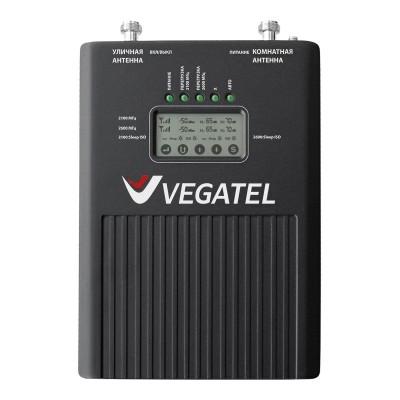 Репитер VEGATEL VT2-3G/4G (LED) для усиления сотовой связи 3G и 4G