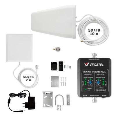 VEGATEL VT-900E/3G-kit (дом, LED) усилитель сотовой связи и 3G интернета для дома