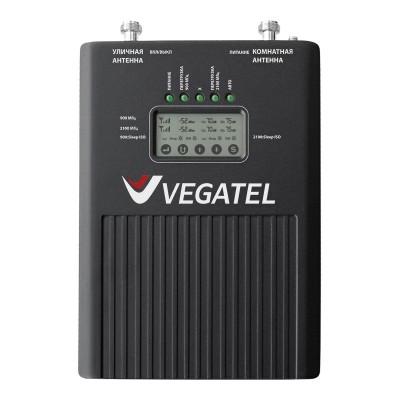 Репитер VEGATEL VT3-900E/3G (LED) для сотовой связи и мобильного интернета