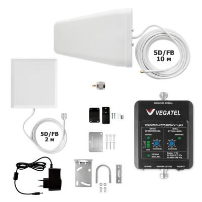 VEGATEL VT-3G-kit (дом, LED) усилитель сигнала 3G для дома