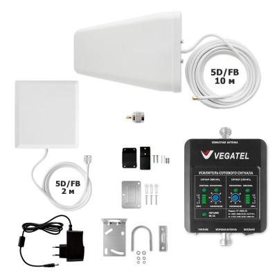 Комплект VEGATEL VT-1800/3G-kit (дом, LED) для дачи или квартиры