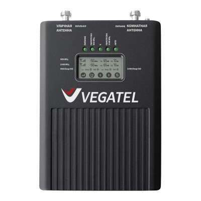 Репитер VEGATEL VT2-900E/3G (LED) сотовой связи и мобильного интернета