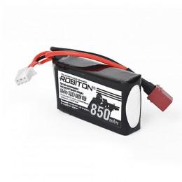 Аккумуляторная сборка Robiton Li-Po 7,4В  850мАч