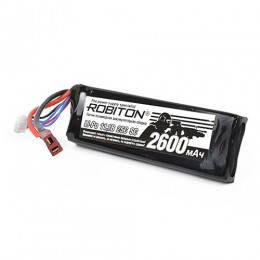 Аккумуляторная сборка Robiton Li-Po 11,1В  2600мАч