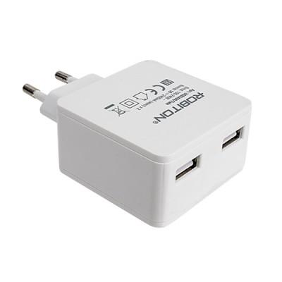 Адаптер ROBITON USB2400 TWIN (4.8A)