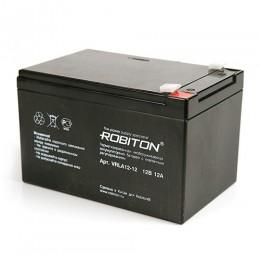 Аккумулятор ROBITON 12В., 12,0A., VRLA12-12