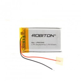 Аккумулятор ROBITON 3.7V 900мА LP603048 Li-Po с защитой