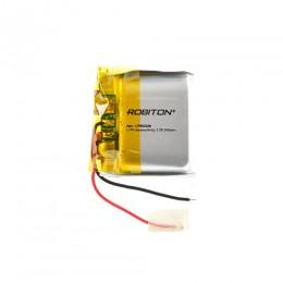 Аккумулятор ROBITON 3.7V 500мА LP852526 Li-Po с защитой