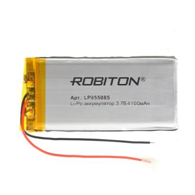 Аккумулятор ROBITON 3.7V 4100мА LP855085 Li-Po с защитой