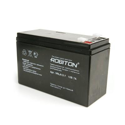 Аккумулятор ROBITON 12В., 7,0A., VRLA12-7
