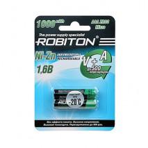 Аккумулятор ROBITON 1.6V 550mA Ni-Zn AAA