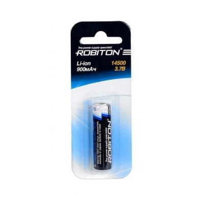 Аккумулятор ROBITON 3.7V 900мА 14500 Li-Ion ICR с защитой