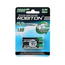 Аккумулятор ROBITON 1.6V 1500mA Ni-Zn AA
