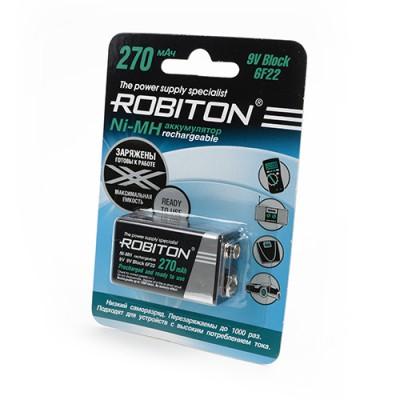 Аккумулятор ROBITON 8.4V 270mA LSD Ni-MH Крона