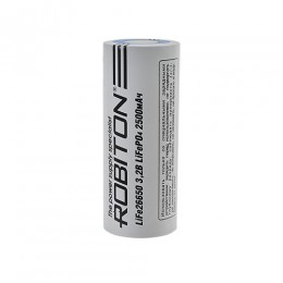 Аккумулятор ROBITON 3.2V 2500мА 26650 Li-FePo4 без защиты