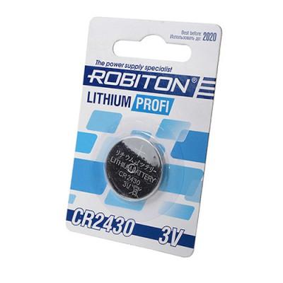 Батарейка Robiton 3V CR2430 Lithium Profi