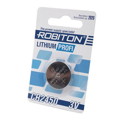 Батарейка Robiton 3V CR2450 Lithium Profi