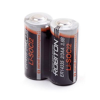 Батарейка Robiton 3.6V ER14335 2/3АА LiSOCl2
