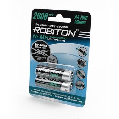 Аккумулятор ROBITON 1.2V 2600mA LSD Ni-MH AA