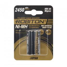 Аккумулятор ROBITON HR-3UTGX 1.2V 2450mA LSD Ni-MH AA