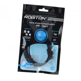 Кабель питания и передачи данных ROBITON P6 USB-TypeC 1м