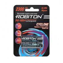 Аккумулятор ROBITON Cyclone 1.2V 2300mA LSD Ni-MH AA