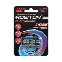Аккумулятор ROBITON Cyclone 1.2V 2300mA LSD Ni-MH AAA