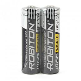 Батарейка Robiton 1.5V AA (LR6) Lithium Winner