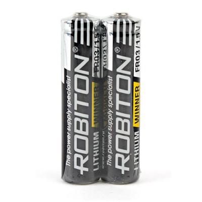 Батарейка Robiton 1.5V AAA (LR03) Lithium Winner