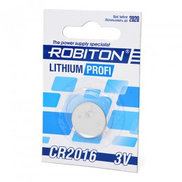 Батарейка Robiton 3V CR2016 Lithium Profi