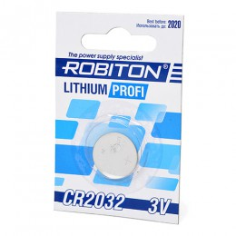 Батарейка Robiton 3V CR2032 Lithium Profi