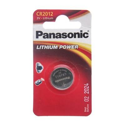 Батарейка Panasonic 3V CR2012 Lithium
