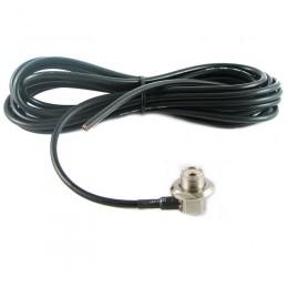 Кабельная сборка UHF-f угловой, кабель RG-58, 4 метра
