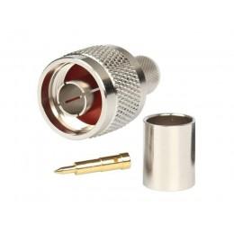 Разъем N-m на кабель RG-213