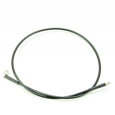 Кабельная сборка SMA-f - SMA-m угловой, кабель RG-58,  0.9 метра