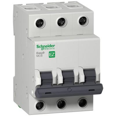 Автоматический выключатель Schneider Electric 3П 63А С 4,5кА (EZ9F34363)