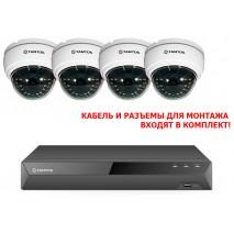 Комплект видеонаблюдения Tantos Магазин 4